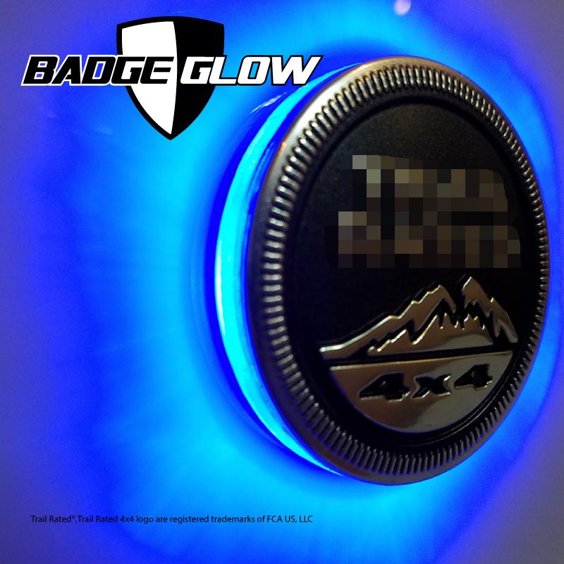 Pink Jeep Wrangler >> Badge Glow Blue LED Backlight – Badge Glow